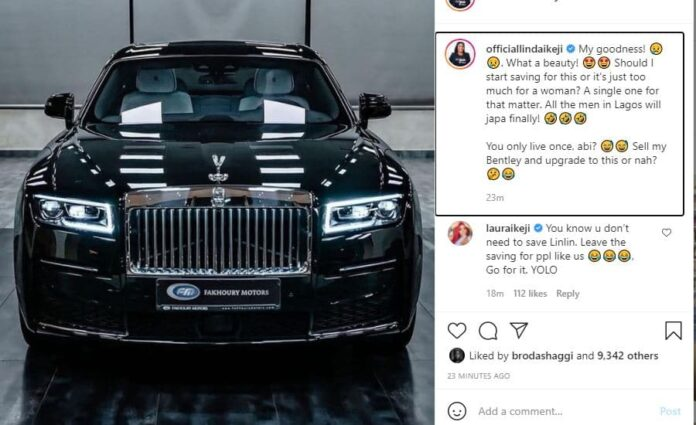 All the men in Lagos will finally run' Linda Ikeji set to add another car  to her fleet of cars - 247 News Around The World
